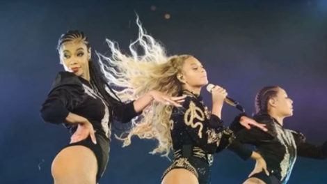 Beyonce proposal concert single ladies