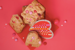 Valentine Blondies Unicorn Cookbook: Easy To Bake!