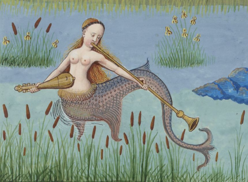 historical mermaid