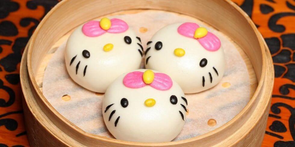 hello kitty Chinese food