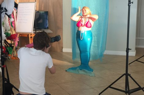 mermaid for vogue