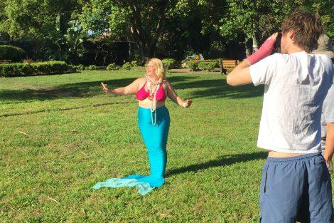 hot mermaid image