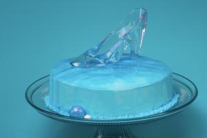 glass slipper mirror glaze Unicorn Cookbook: Easy To Bake!