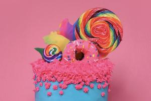 Rainbow Cake Nirvana Unicorn Cookbook: Easy To Bake!