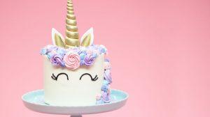 rainbow unicorn food